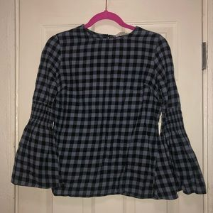 Tops - Funky Gingham Blouse